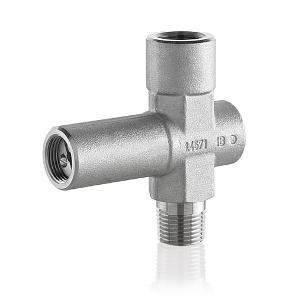 Überdruckschutzvorrichtung für Manometer PN400/PN600, DN3