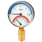 Bimetall-Thermomanometer Typen 100.0x, 100.1x