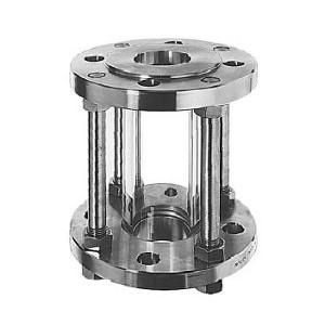 Durchfluss-Rohrschauglas mit DIN-Anschluss