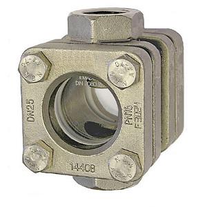Durchfluss Schauglas Typ 881