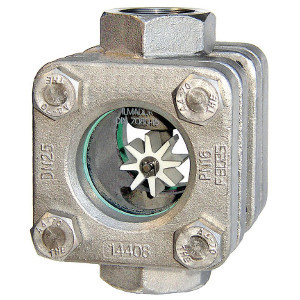 Durchfluss Schauglas Typ 881 mit Rotor