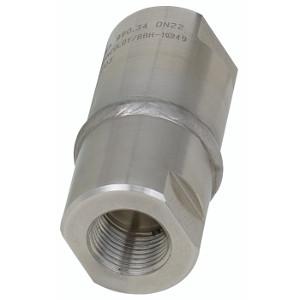 Gewindeanschluss, Membran-Druckmittler Typ 990.34