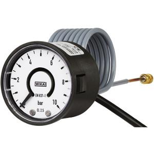 Rohrfederdruckmessgerät mit elektronischem Druckschalter Typ PGS05