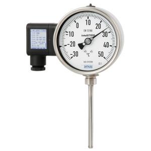 Gasdruck-Thermometer mit elektrischem Ausgangssignal Typ TGT73
