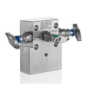 3 - Fach Ventilblock Typ E3A