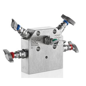 3 - Fach Ventilblock Typ E5A/E5U