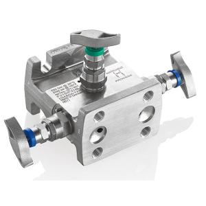 3 - Fach Ventilblock Typ H3A/H3B