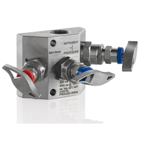 3- Fach Ventilblock Typ PW (W-Form)