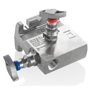 2 - Fach Ventilblock Typ T2A