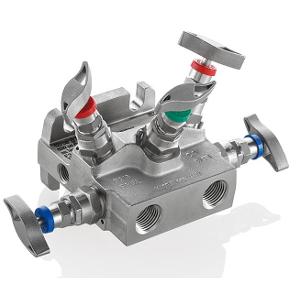 5 - Fach Ventilblock Typ T5A/T5N