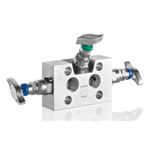 3 - Fach Ventilblock Typ W3AA/W3BA