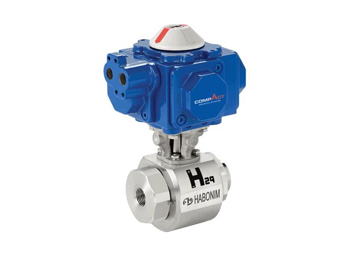 Hochdruck Kugelhahn H29 für Wasserstoffanwendungen